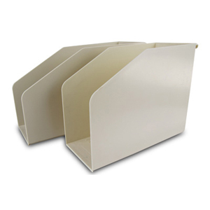 Filing & storage - Plastic file support box 12.5cm F/Cap