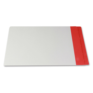 Filequest FSI 330 gsm partially laminated file folder.  Double reinforced Red end tab. Legal size