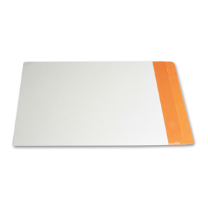 Filequest FSI 330 gsm partially laminated file folder.  Double reinforced Light Orange end tab. Legal size