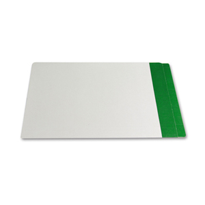 Filequest FSI 330 gsm partially laminated file folder.  Double reinforced Dark Green end tab. Legal size