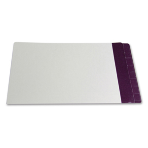 Filequest FSI 330 gsm partially laminated file folder.  Double reinforced Purple end tab. Legal size