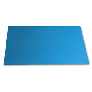 Filequest FSI 330 gsm fully laminated blue file folder.  Double reinforced end tab.  Legal size.