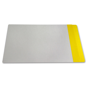 Filequest FSI 330 gsm partially laminated file folder.  Double reinforced Yellow end tab. Legal size