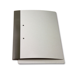 FO-14-M1 FSI 426 gsm extra heavy duty double laminated folder with springclip installed.