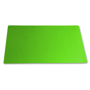 Filequest FSI 330 gsm fully laminated green file folder.  Double reinforced end tab.  Legal size.