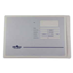 Codastyle standard file folder with three piece fastener installed.  NZ F/cap.