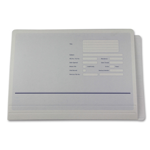 extra large, super-heavy duty file folder.  NZ F/cap.