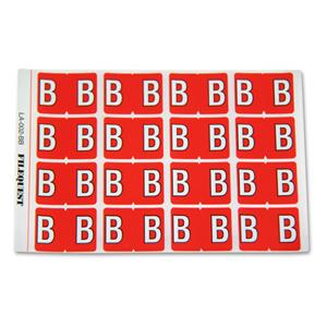LA-002-BB  Filequest Alpha Labels Letter B
