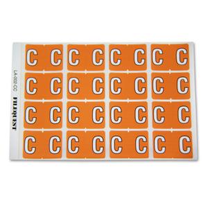 LA-002-CC Filequest Alpha Labels Letter C