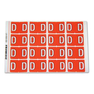 LA-002-DD Filequest Alpha Labels Letter D
