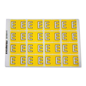 LA-002-EE Filequest Alpha Labels Letter E