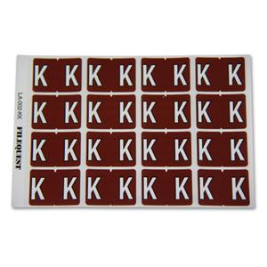 LA-002-KK Filequest Alpha Labels Letter K