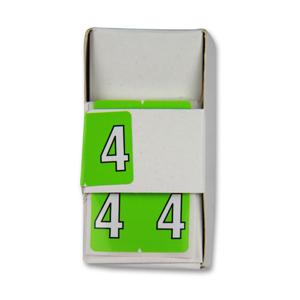 FSI Numeric labels 4