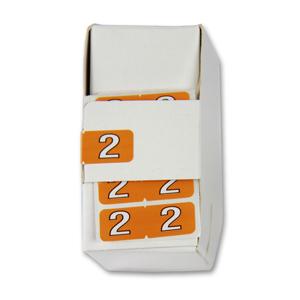 FSI ½-size Numeric labels 2