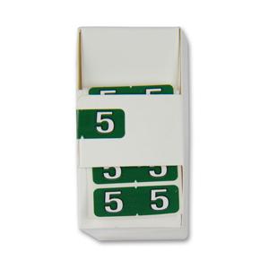 FSI ½-size Numeric labels 5