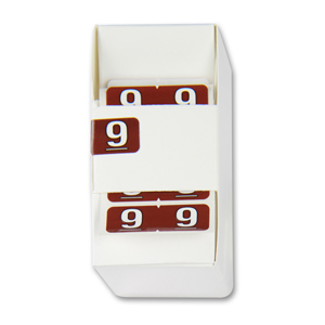 FSI ½-size Numeric labels 9