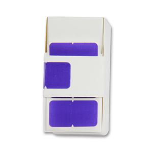 Solid colour designation label - colour coded filing