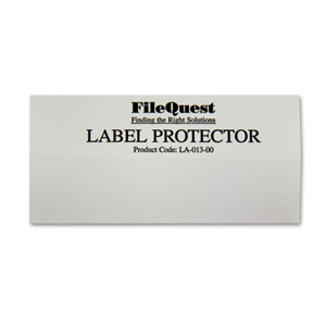 Colour coded filing - Mylar label protector