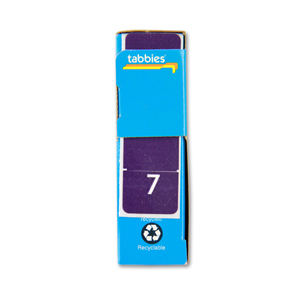 FSI Top Tab Numeric Labels - colour coded filing