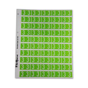 RM25 numeric label 3