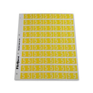RM25 numeric label 5
