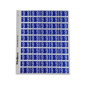 RM25 numeric label 9