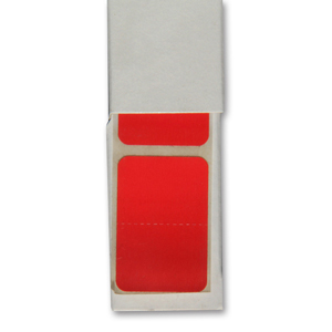 Colour coded filing - RM25 solid colour designation - Red