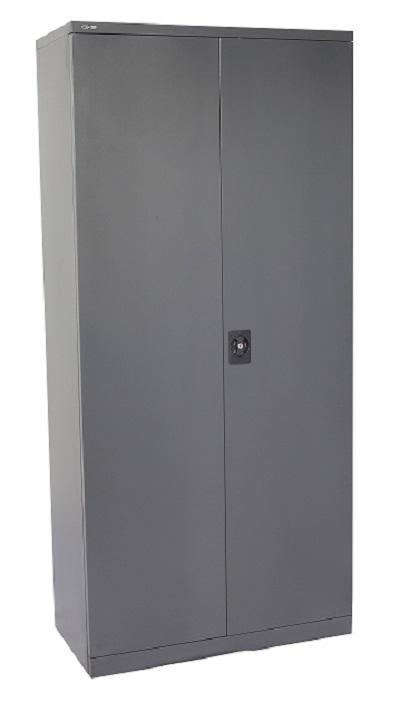 GCA20 Graphite Ripple Hinged Door Cabinet