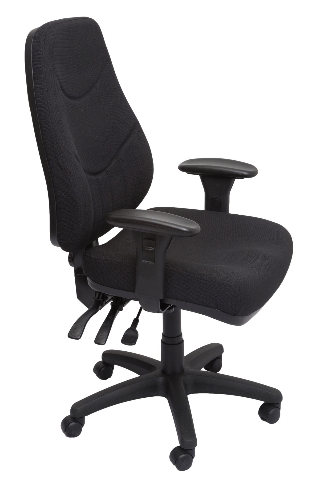 Lander 3 Lever Heavy Duty Contemporary Fabric Executive Chair