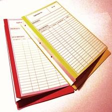 Printed Folders W Gusset